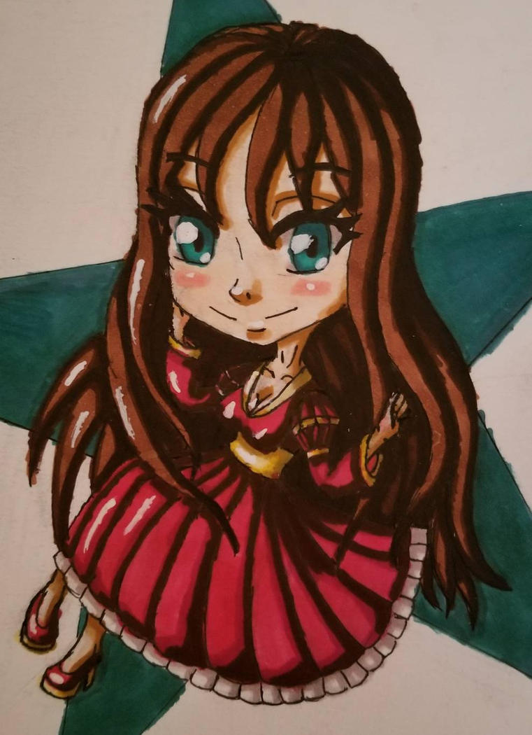 Star Princess Chibi by BritxBrit