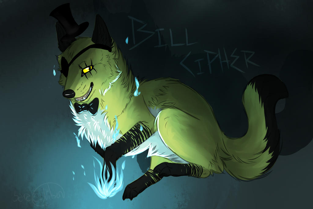 Fanart Bill Cipher Wolf Form By Fallenthehybrid On Deviantart