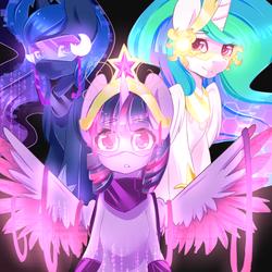 Princess Glow Pone by Camelliachu