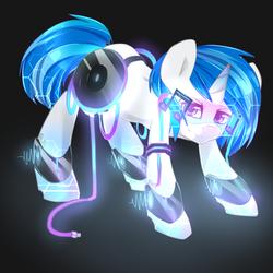 Vinyl Glow Pone
