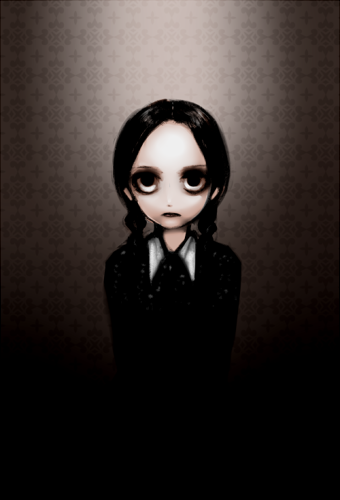 Addams Family - Wednesday by out69 on DeviantArt