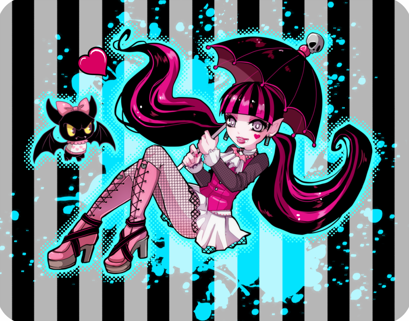 Monster High  Draculaura by out69 on DeviantArt