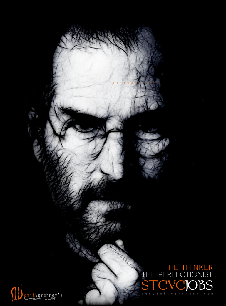 Sir Steve Jobs by iAmitVarshney