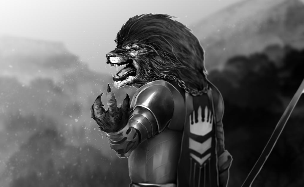 Lion Conqueror by ogar555