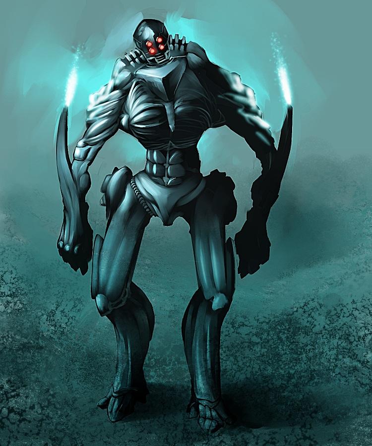 Robot by ogar555