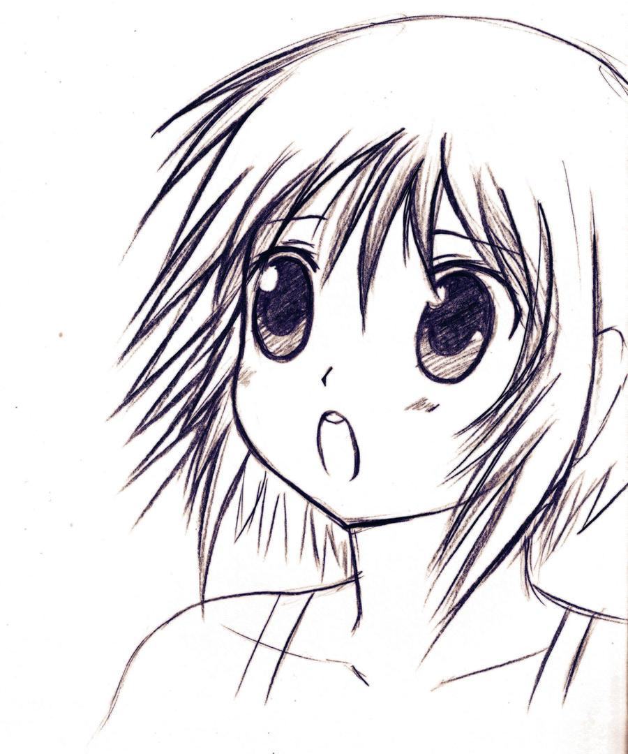 Dibujo Anime Random By Hayatso