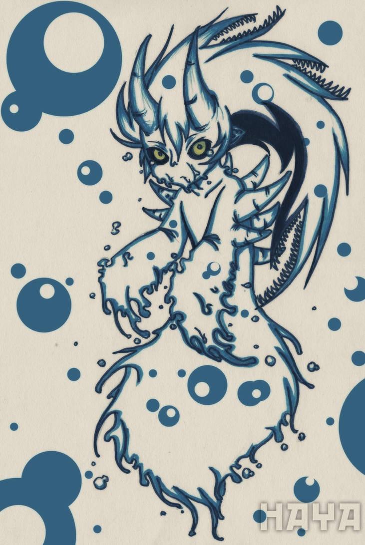 Tiny Demon Spirit of Water by Hayatso