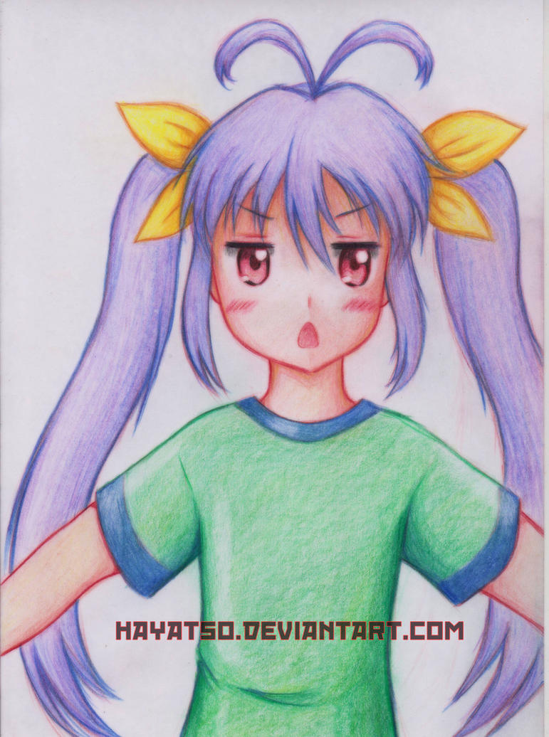 Renge FAN ART and Speed Art by Hayatso