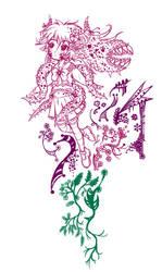WIP Moenster Doodle by Hayatso