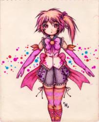 Magical Girl 011 by Hayatso