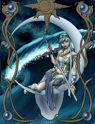Umi Magic Knight Rayearth  by Rizerax