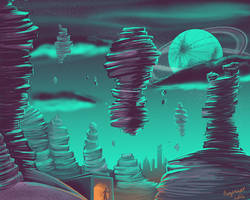 Sci Fi Landscape