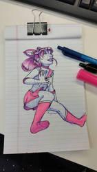 Sailor Mini Moon by Rizerax