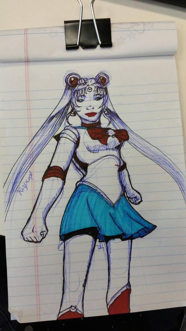 Sailor moon by Rizerax