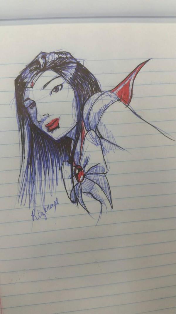Sailor Mars  by Rizerax