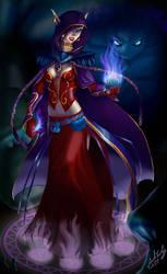 Blood Elf Warlock
