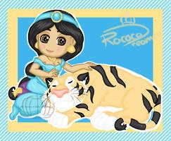 Jasmine and Raja by RococoDreamer