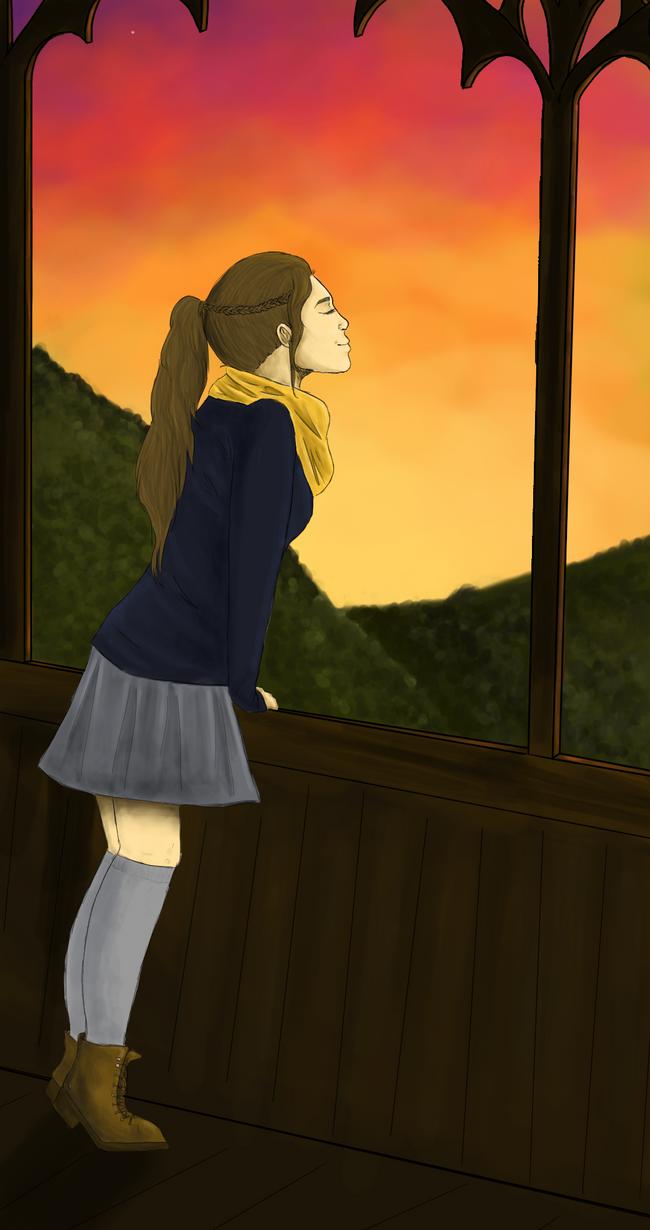 If I could fly ... by Kuroibaka