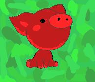 Army Pig by Elouisek