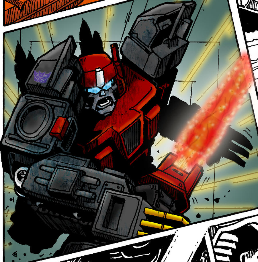 Transformers Preview: Scythe by Clu-art
