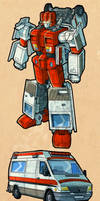 First Aid IDW style by Clu-art