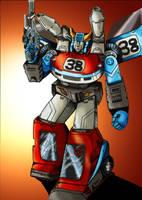 Transformer G1: Smokescreen by Clu-art