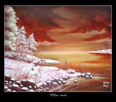 On the Rocks by Clu-art