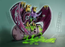 Transformers G1: Ratbat by Clu-art