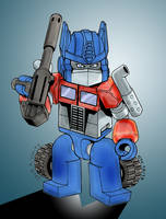 Kre-O: Optimus Prime by Clu-art