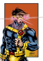 Marvel's Cyclops by Clu-art