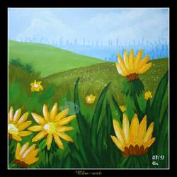 Spring Flowers by Clu-art