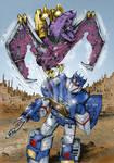 Transformers G1: Ratbat eject!