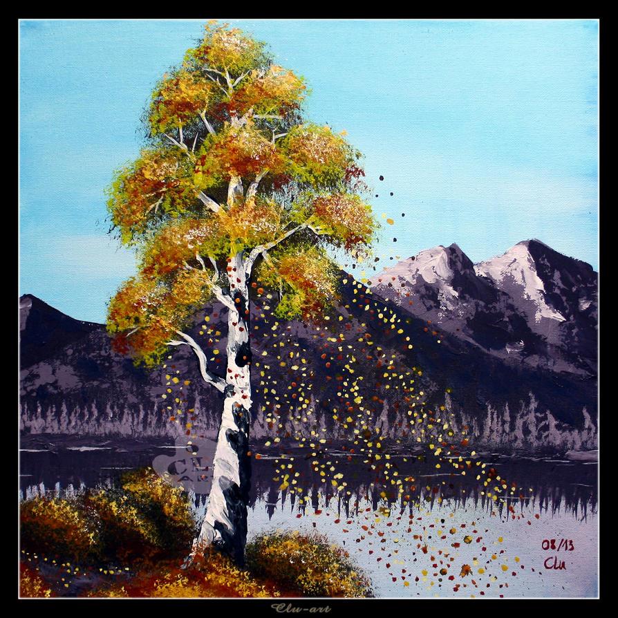 Falling Leaves by Clu-art