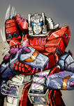 Transformers G1: Scattershot Vs Hun Grrr