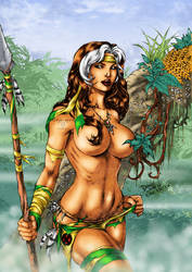 Jungle Fever Rogue by Clu-art