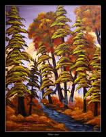 Autumn Path by Clu-art
