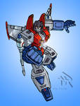 Transformers G1: Starscream