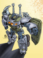 Transformers G1: Onslaught by Clu-art