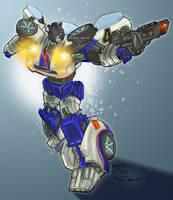 Transformers G1: Jazz by Clu-art