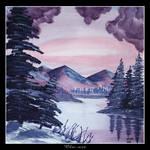 Winter Lake View