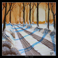 Winter Road by Clu-art