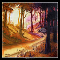 Somewhere along the way by Clu-art