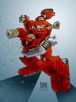 Transformers G1: Warpath by Clu-art