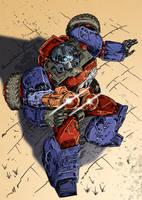Transformers G1: Crosshairs by Clu-art