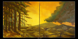 Gathering Storm DIPTYCH by Clu-art