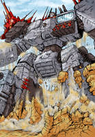 Transformers G1: Metroplex by Clu-art