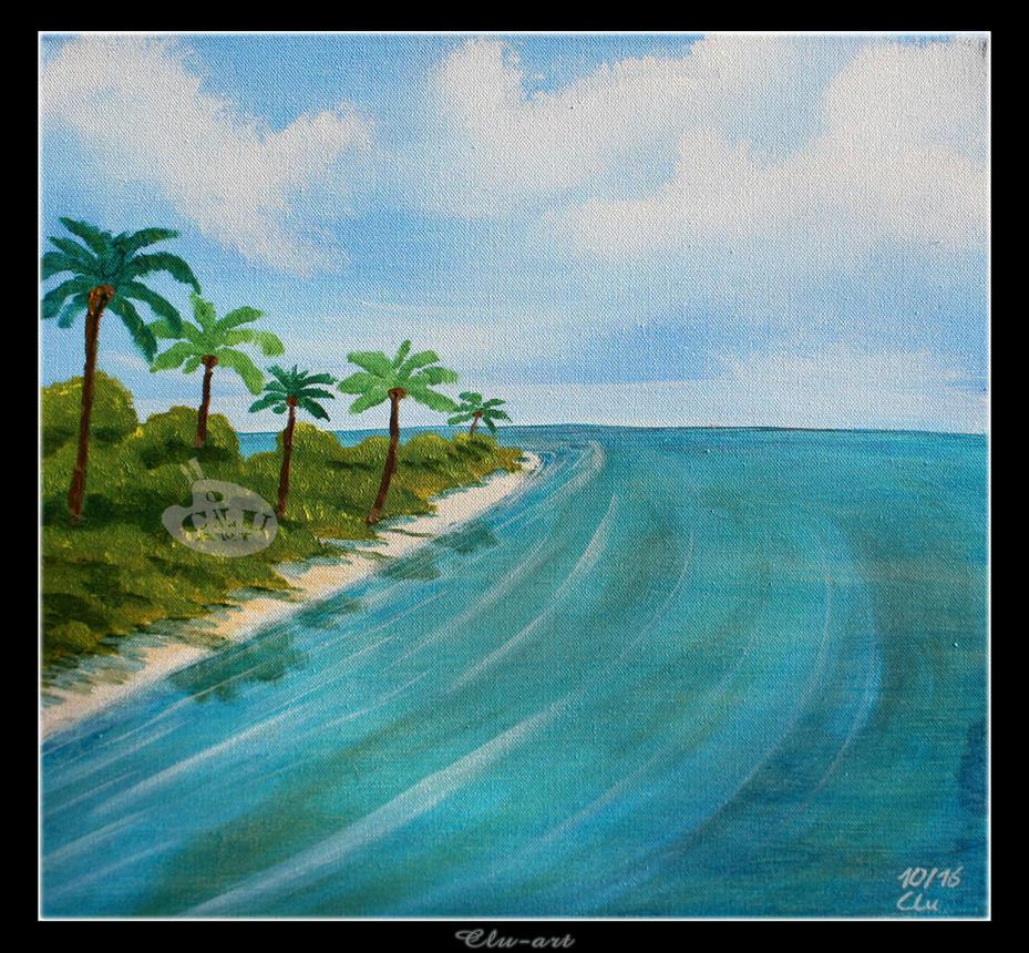 On Treasure Island by Clu-art
