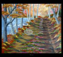 Along the Lake by Clu-art