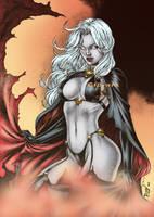 Lady Death by Clu-art