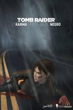 FANFIC COVER - KARMA WEARS BLACK